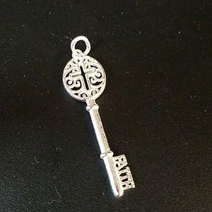 Cross Key Pendant